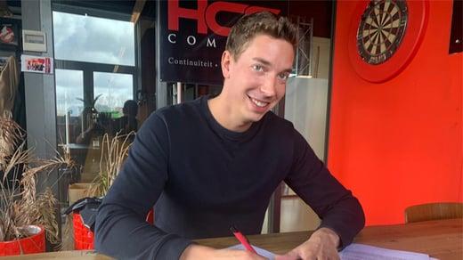 Even voorstellen: nieuwe collega Thijs de Werdt